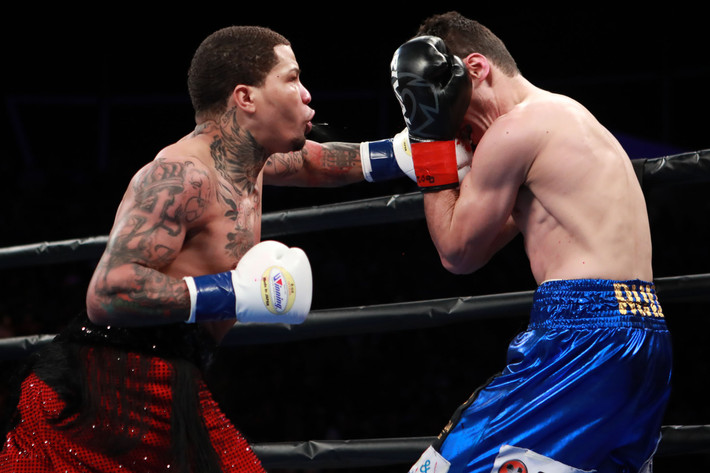 Gervonta Davis KO's Hugo Ruiz in One