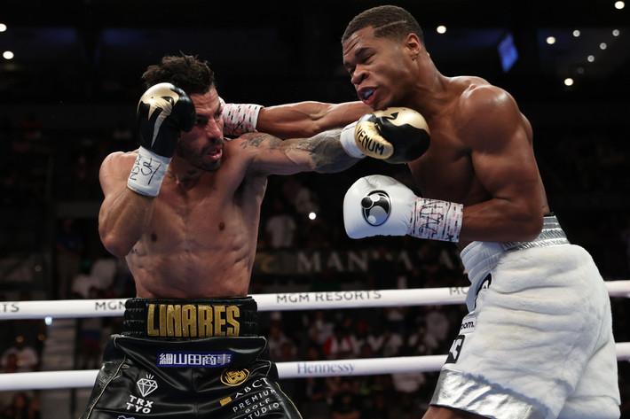 Haney Defeats Linares