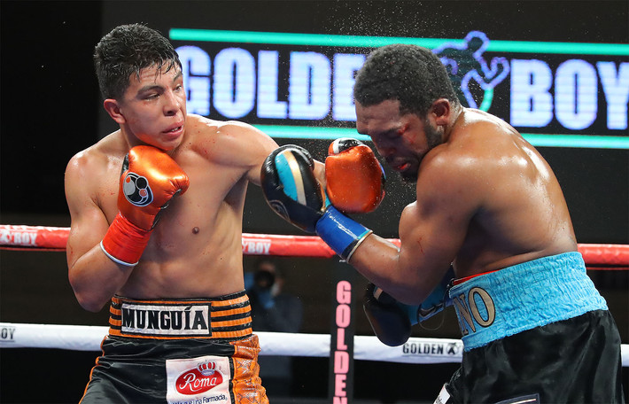 Munguia Stops Johnson in Six