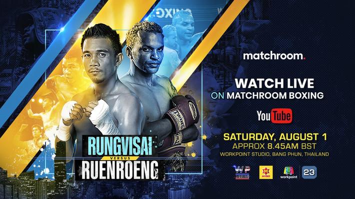 RungvisaI vs. Ruenroeng This Saturday on You Tube