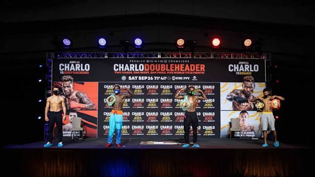 Charlo Brothers Make Weight