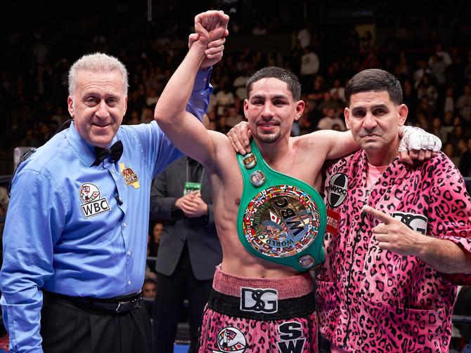 Danny Garcia Defeats Robert Guerrero Wins WBC Welterweight Title