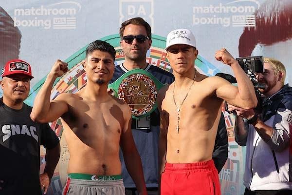 Mikey Garcia and Jessie Vargas Make Weight
