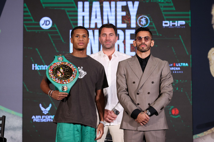 Devin Haney vs. Jorge Linares Final Press Conference
