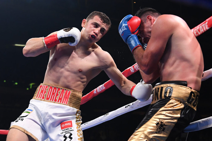Uzbekistan Rising Star Israil Madrimov World Champion Jeison Rosario Upon Boxing Return
