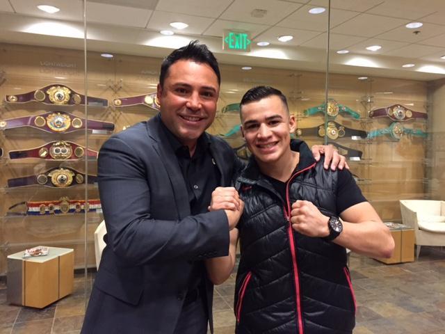 "Golden Boy Promotions Adds Amateur Standout Genaro ""El Conde"" Gamez"