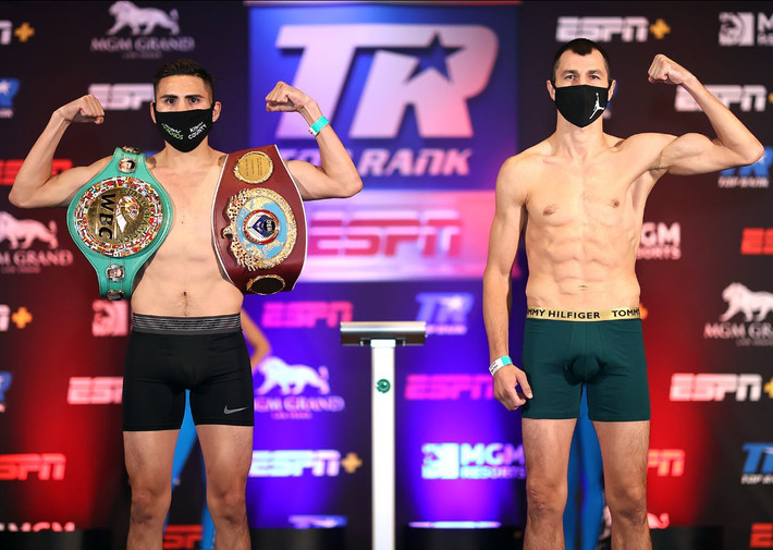 Ramirez and Postol Make Weight Finally Ready to Square Off