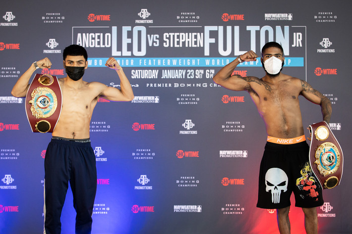 Angelo Leo and Stephen Fulton Make Weight