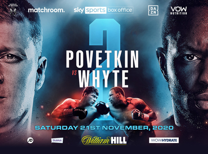 Povetkin Whyte Rematch November 21