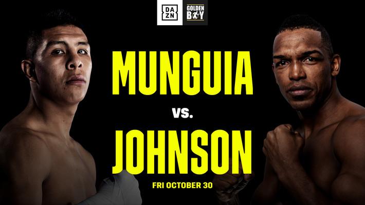 Munguia Johnson Undercard