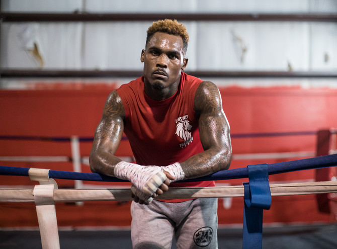 Jermell Charlo Media Day Workout