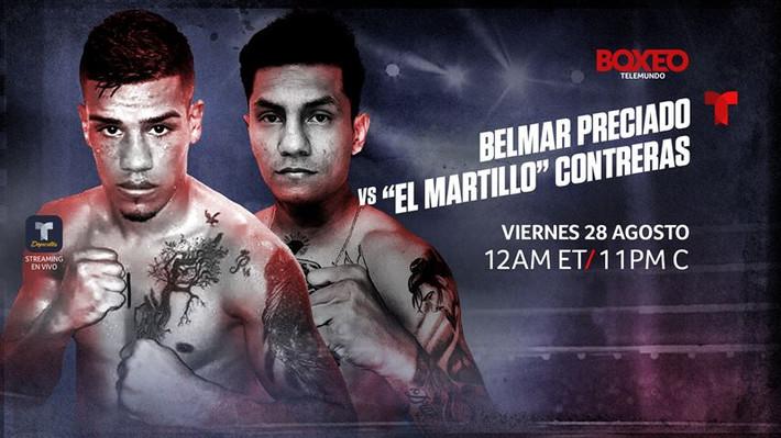 Contreras Preciado Headline Boxeo Telemundo Friday Night