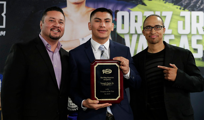 Vergil Ortiz: This year I want to breakthrough