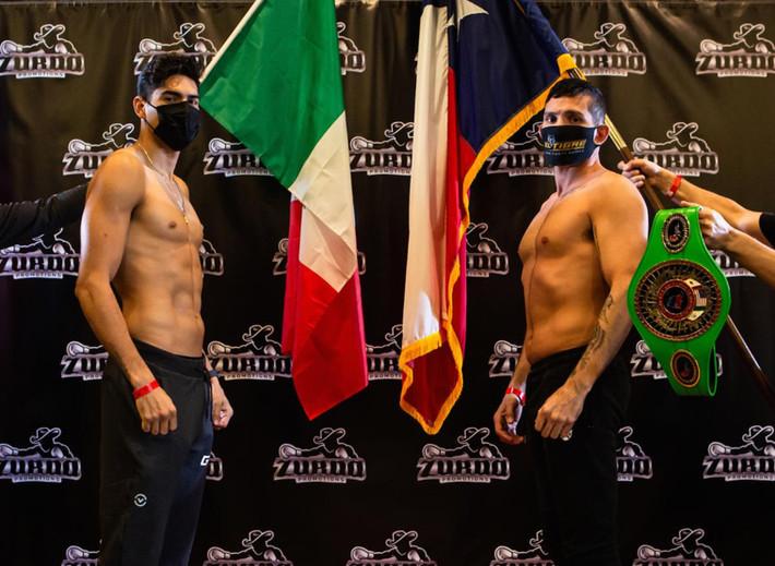 Zurdo Ramirez and Alfonso Lopez Make Weight