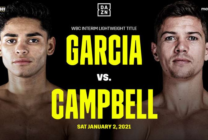 Ryan Garcia vs. Luke Campbell Heads to Texas