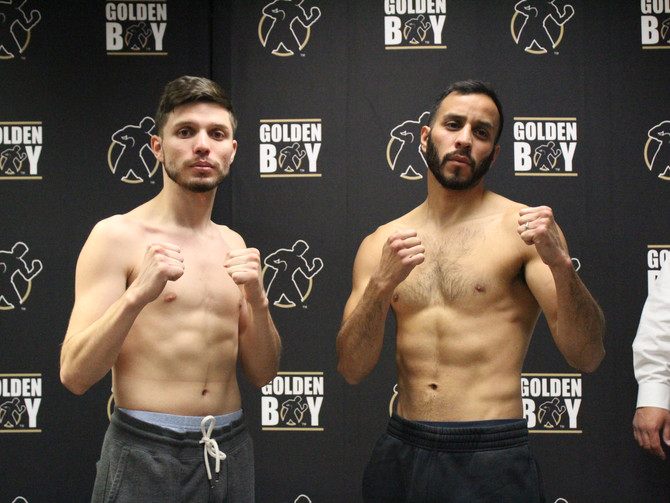 LA Fight Club Weigh in Results