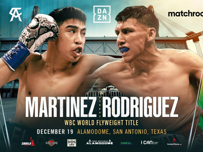 Julio Cesar Martinez Takes on Francisco Rodriguez on Canelo Smith Card