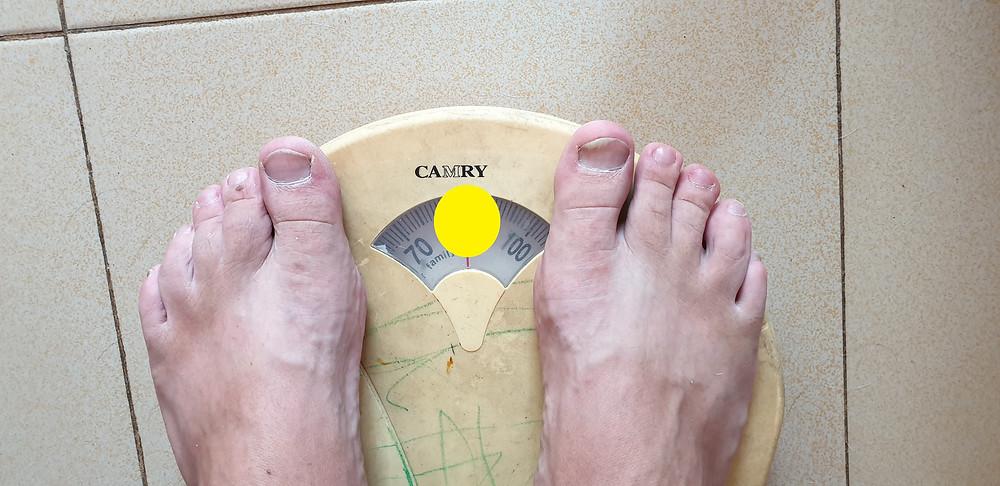 Ik mag geen gewichtsresultaten online publiceren omdat dit voor iedere persoon anders is.