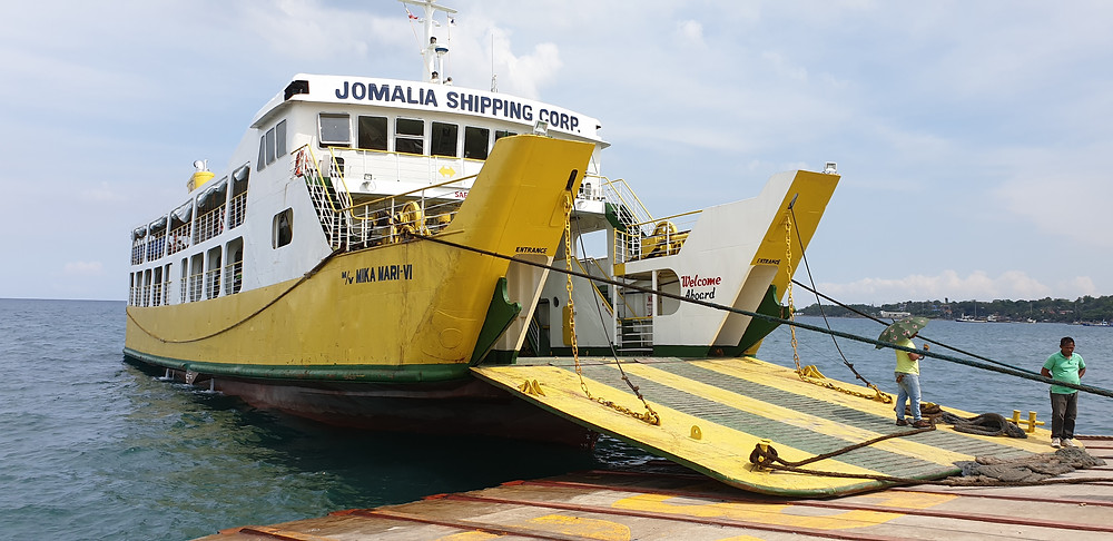 2 Hours by boat from Cebu to Camotes.