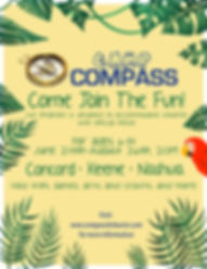Camp Compass poster