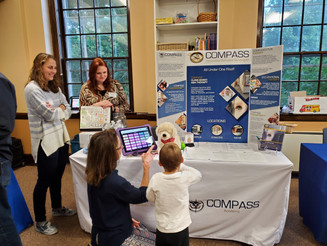 COMPASS EXHIBITS AT AUTISM OPEN HOUSE!