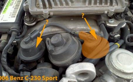W203 '06 C230 Sport: Intake Runner Valve Leaking?