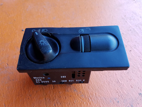 FS MK3 Jetta Light Switch