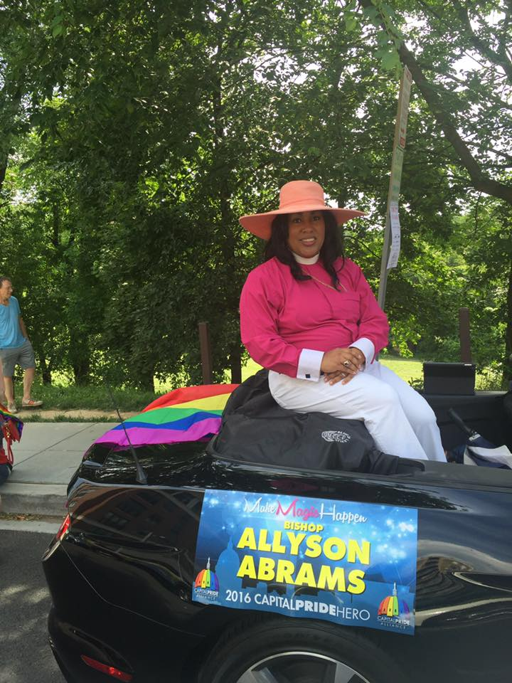 Bishop Abrams_Capital Pride Parade