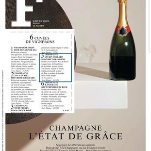 Le Figaro quotidien supplément Champagne