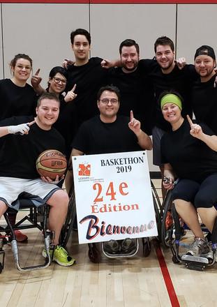 Baskethon- gagnants 2018