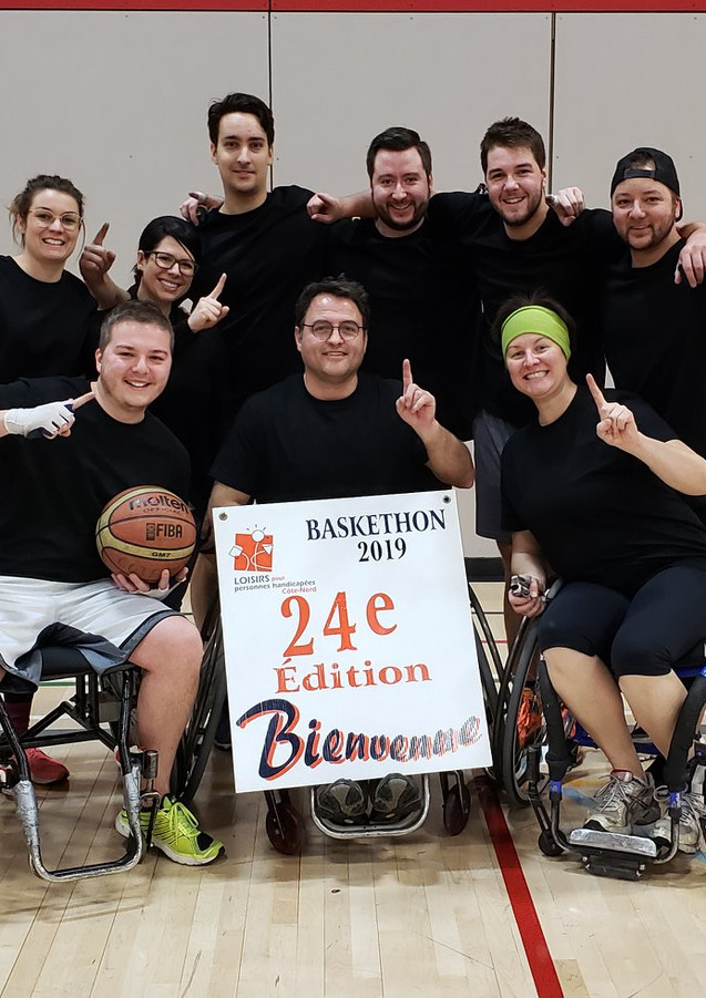 Baskethon- gagnants 2018