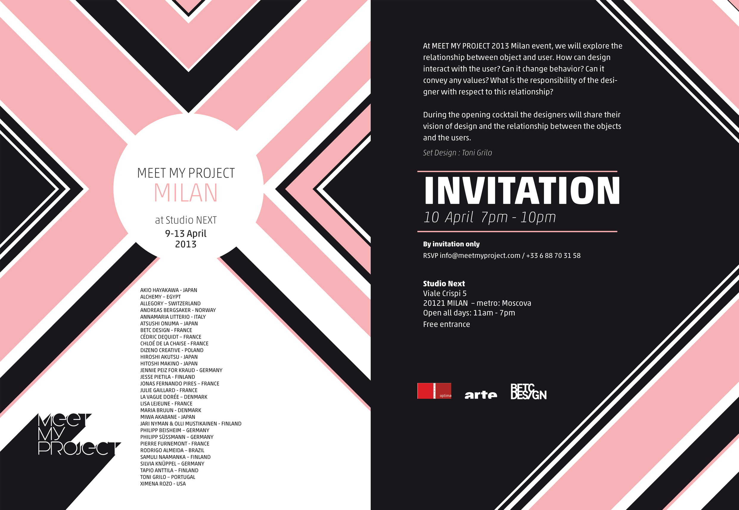 MEET+MY+PROJECT in Milan