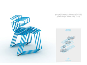 """Wire Stacking chair """"FILLO"""" (2013)"""