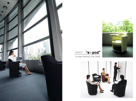 "Meeting-Rounge chair ""e-pod"" (2004)"