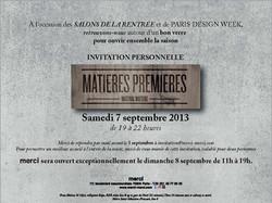 Matieres Premieres 2013