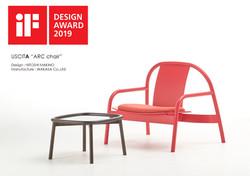 ARC chair won the IF Design Award