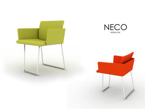 """Nesting chair """"NECO"""" (2007)"""
