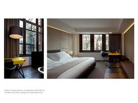 Hotel Conservatorium Amsterdam by Lissoni  (2011)