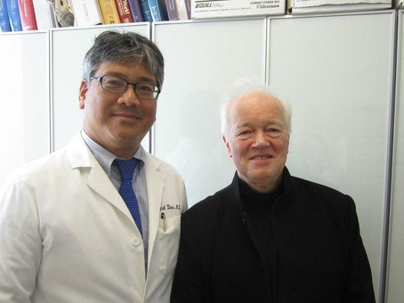 Dr. Diao with Master Conductor Edo De Waart