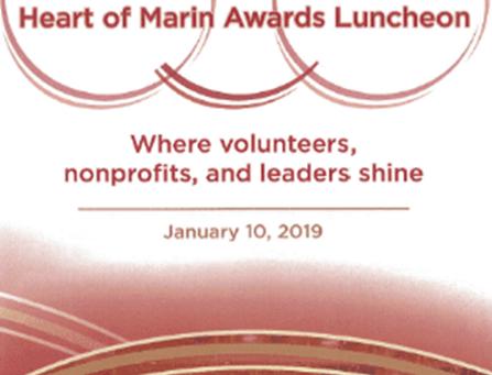 26th Annual Heart of Marin Awards Luncheon - January 10, 2019