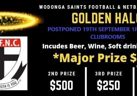 Wodonga Saints Golden Halo