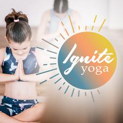 Ignite Yoga logo design