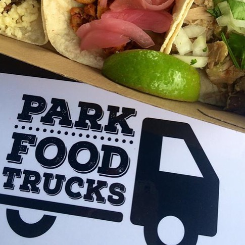 Logo design for the fantastic bunch _park_foodtrucks who hold regular community events across Brisba