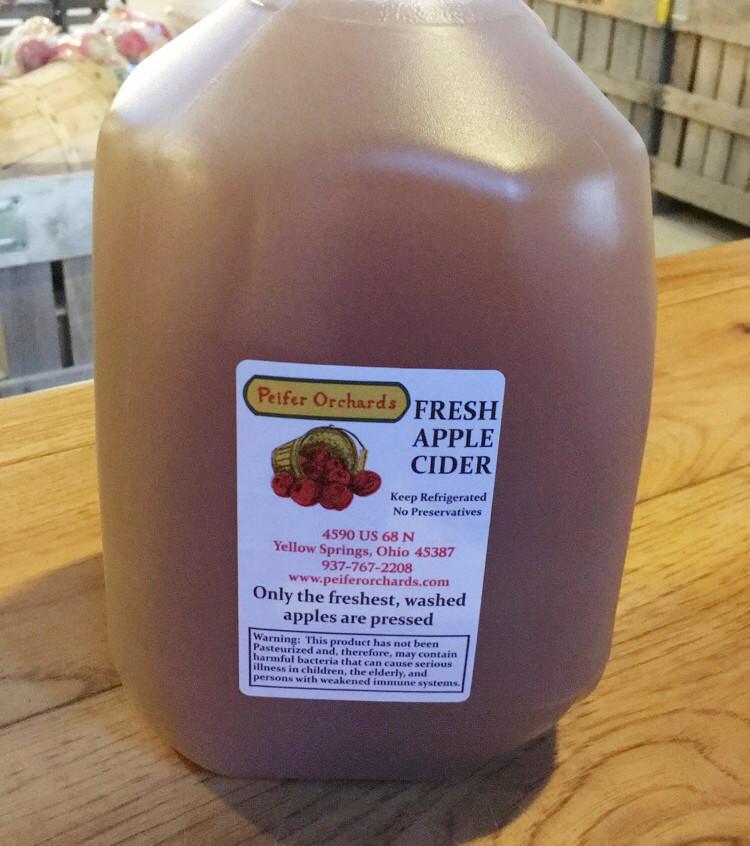 Peifer's Apple Cider