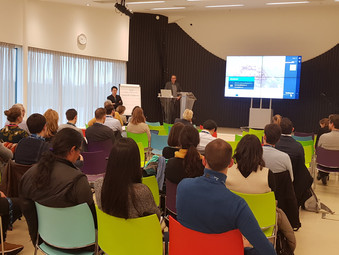 Presenting at the Delft Software Days Data Symposium