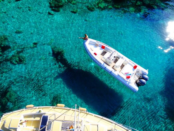 Nos bateaux, Shanti & Gricha