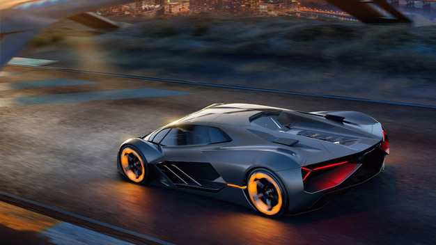 Electric Lamborghini Terzo Millennio Houses Battery In Body Sports