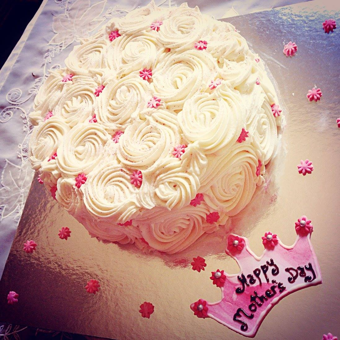 Vanilla Lovers Cake