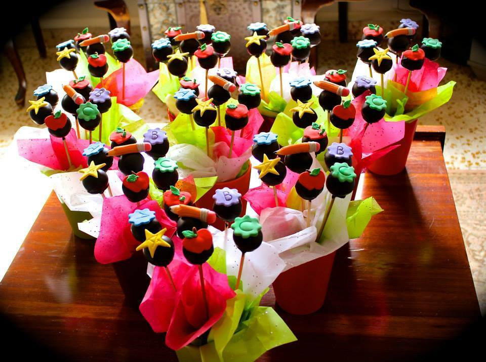 Teacher Appreciation Day Cake-Pops