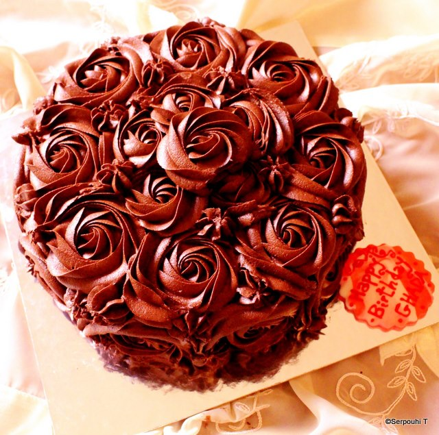 Chocolate Lovers Birthday Cake